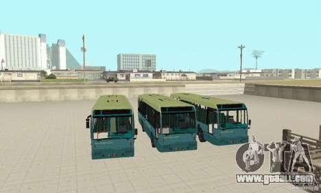 Den Oudsten Alliance v.2 for GTA San Andreas back view
