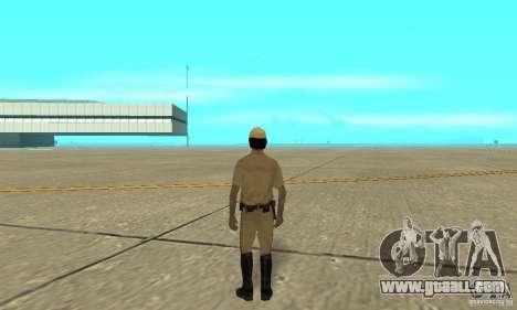 New uniform cops on bike for GTA San Andreas third screenshot