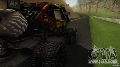 Buggy Off Road 4X4 for GTA San Andreas left view