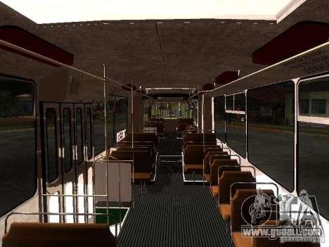 ZiU 683 for GTA San Andreas inner view
