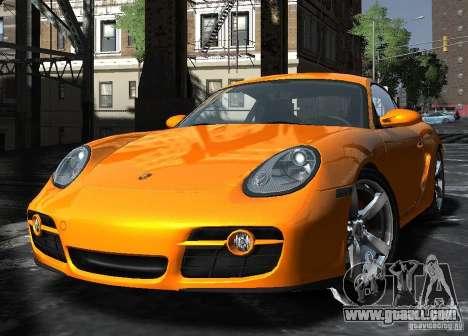 Porsche Cayman S1 for GTA 4