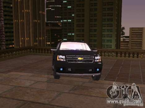 Chevrolet Avalanche for GTA San Andreas back left view