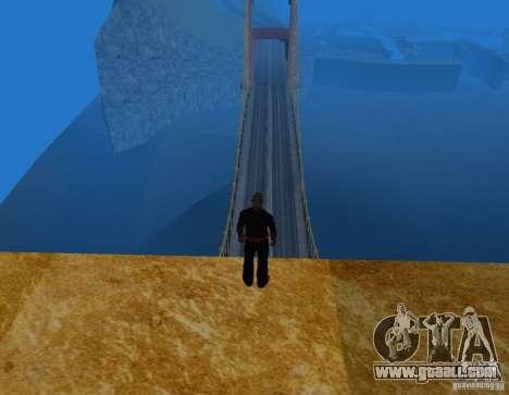 Golden Gate for GTA San Andreas third screenshot