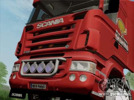 Scania R620 Brahma for GTA San Andreas side view