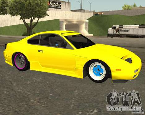 Nissan S330SX Japan SHK style for GTA San Andreas right view