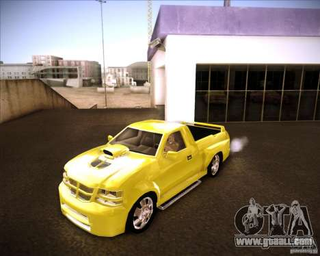 Dodge Dakota tuning for GTA San Andreas