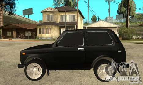 VAZ 21213 NIVA tinted for GTA San Andreas left view