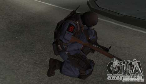Rifle from GTA IV for GTA San Andreas