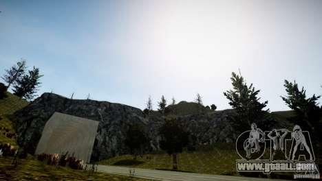 GhostPeakMountain for GTA 4 third screenshot