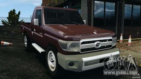 Toyota Land Cruiser Pick-Up 2012 for GTA 4