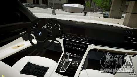 BMW 750Li Sedan ASANTI for GTA 4 right view