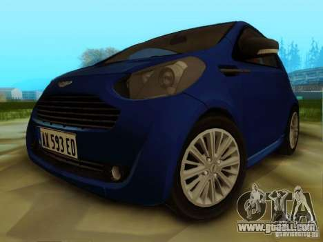 Aston Martin Cygnet for GTA San Andreas left view