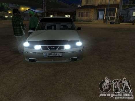 Daewoo Nexia for GTA San Andreas right view
