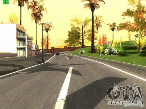 Roads Moscow for GTA San Andreas third screenshot