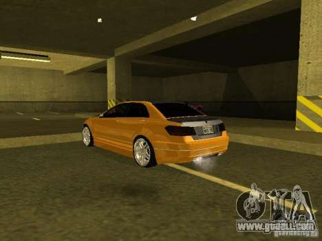 GTAIV Schafter Modded for GTA San Andreas right view