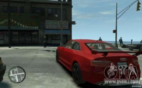 Audi S5 v2 for GTA 4 back left view