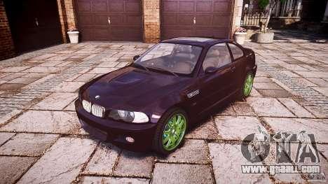 BMW M3 e46 2005 for GTA 4