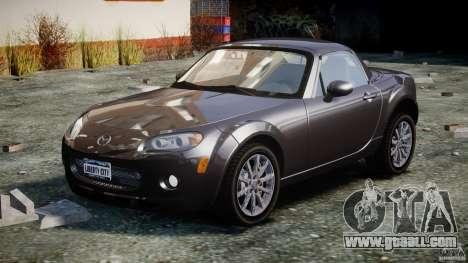 Mazda MX-5 for GTA 4 back view
