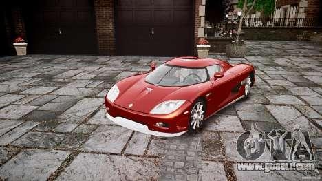 Koenigsegg CCX v1.1 for GTA 4 right view