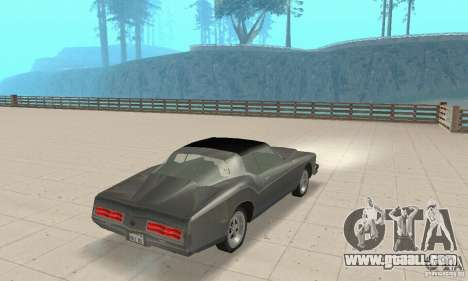 Buick Riviera 1973 for GTA San Andreas left view