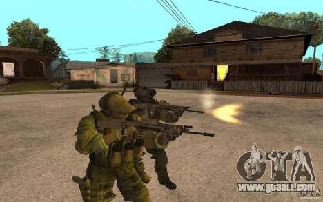 SCAR FN MK16 for GTA San Andreas second screenshot