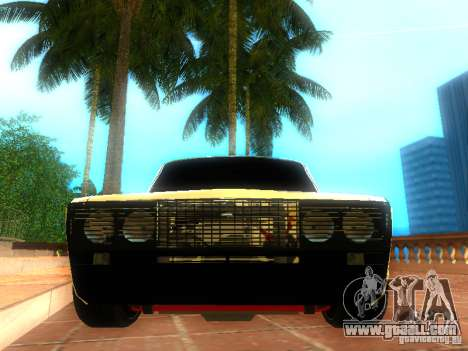 Vaz 2106 dag style for GTA San Andreas right view