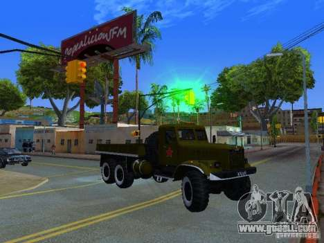 KrAZ truck Parade for GTA San Andreas