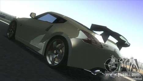 Nissan 370Z Drift 2009 V1.0 for GTA San Andreas back view