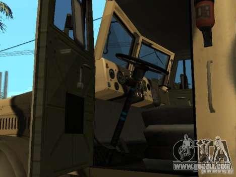 KrAZ 255 B1 v 2.0 for GTA San Andreas right view