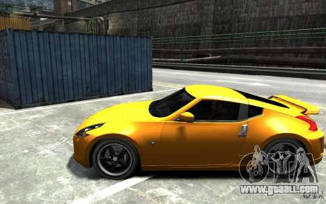 Nissan 370z Tuned Final for GTA 4 left view