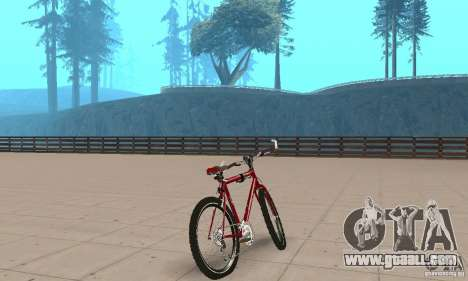 Chongs Mountain Bike for GTA San Andreas left view