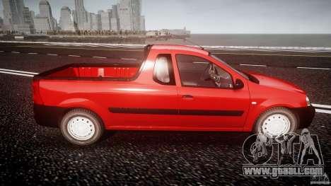 Dacia Logan Pick-up ELIA tuned for GTA 4 side view