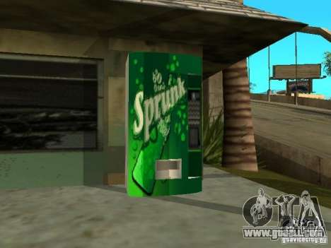 New textures for machines for GTA San Andreas second screenshot