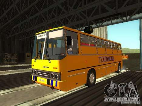 Technical Ikarus 280 for GTA San Andreas left view