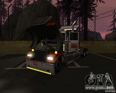Western Star 4900 EX for GTA San Andreas right view
