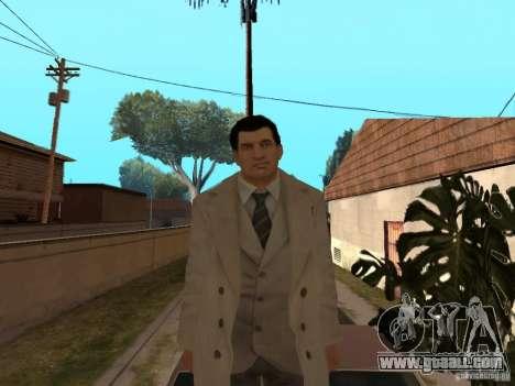Joe Barbaro of Mafia 2 for GTA San Andreas fifth screenshot