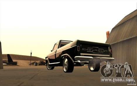 Chevrolet C-10 Fixxa for GTA San Andreas right view