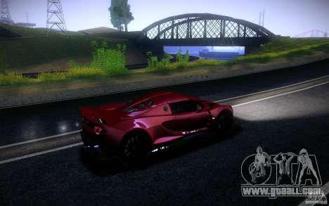 Hennessey Venom GT 2010 V1.0 for GTA San Andreas left view