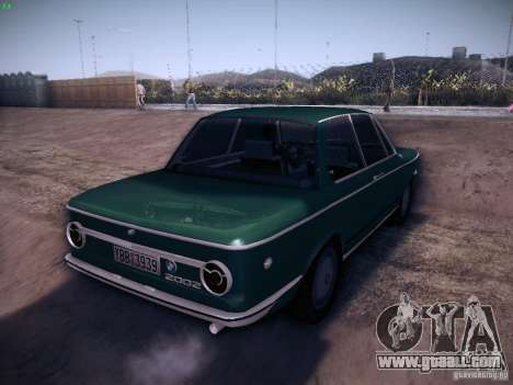 BMW 2002 1972 for GTA San Andreas right view