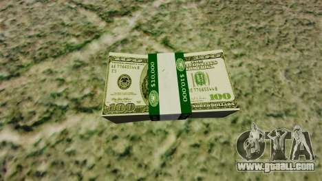 100 dollar bills United States Federal Reserve for GTA 4