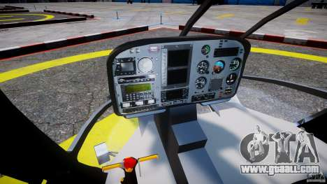 Eurocopter EC 130 LCPD for GTA 4 right view