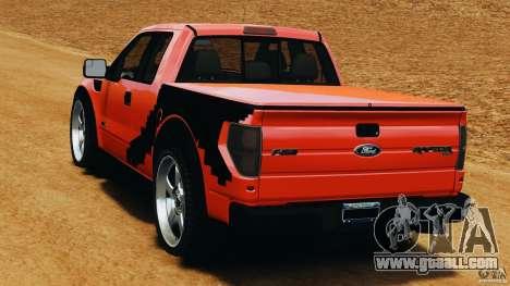 Ford F-150 SVT Raptor for GTA 4 back left view