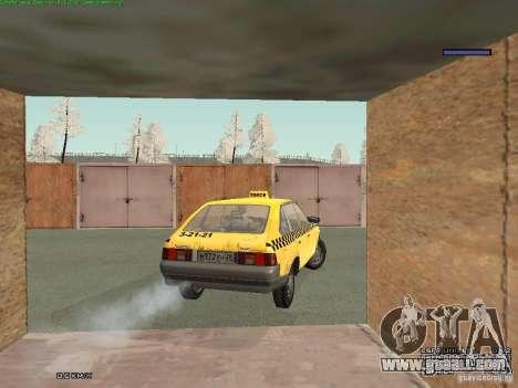 AZLK Moskvich 2141 Taxi v2 for GTA San Andreas engine