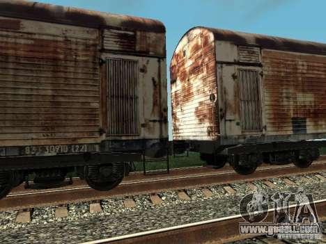 Refrežiratornyj wagon Dessau No. 4 Rusty for GTA San Andreas right view