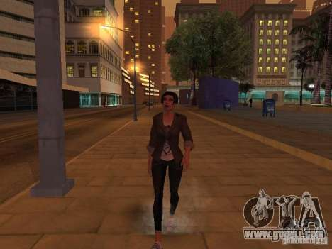 Black Stallion Peds for GTA San Andreas fifth screenshot
