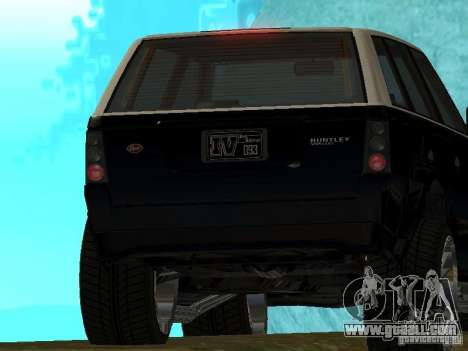 Huntley in GTA IV for GTA San Andreas right view