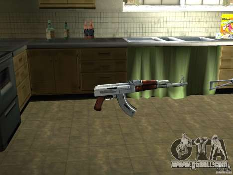 Pak domestic weapons version 3 for GTA San Andreas second screenshot