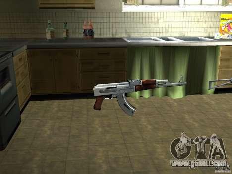 Pak domestic weapons version 3 for GTA San Andreas second screenshot