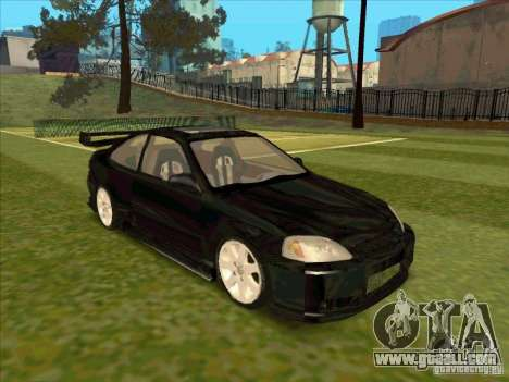 Honda Civic Coupe 1995 from FnF 1 for GTA San Andreas right view