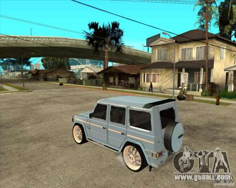 Mercedes Benz G 500 Brabus - Dub Edition for GTA San Andreas left view